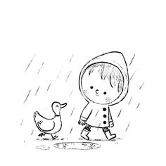 Sketches and doodles by Chris Chatterton Easy Doodles Drawings, Cool Art Drawings, Art Drawings Sketches, Cartoon Drawings, Cartoon Art, Children's Book Illustration, Illustrations, Dibujos Cute, Whimsical Art