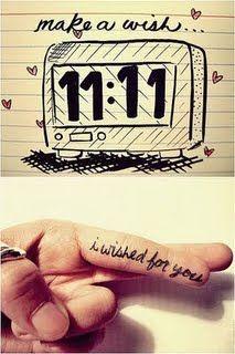make a wish...11.11