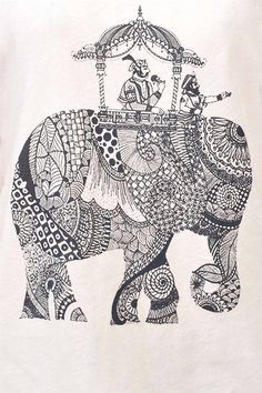 Elephant (tank top) would love to do this to my elephants and giraffes