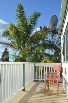 Sunny Balcony from our double private en-suite rooms