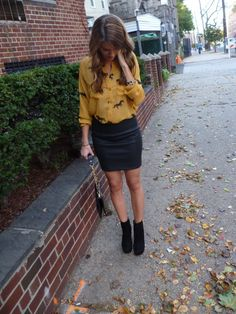 on sweetest somethings: leather and pony print + booties