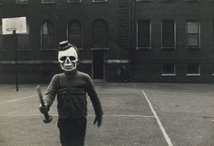Halloween is creepy enough by itself, but let's slap a vintage filter on it + the mysterious atmosphere of the older days and you get a whole new level of creepy.