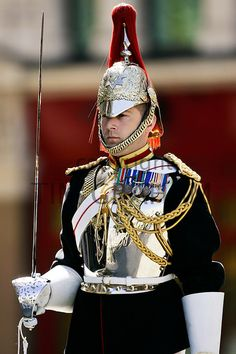 Soldier of the Blues and Royals