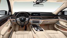 Interiér BMW řady 7