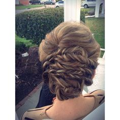 """""""Fancy updo//  - - I did this hairstyle on my mom who has tons of layers so I love how it turned out!!!  - - what do y'all think about this hairstyle?  - - #braids #braidsforgirls #braidphotos #hair #hairstyles #instagram"""" Photo taken by @braidsbysophia on Instagram, pinned via the InstaPin iOS App! http://www.instapinapp.com (04/02/2015)"""