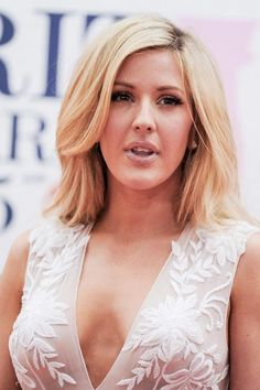 Learn how to mimic the makeup of gorgeous beauty Ellie Goulding with these few easy steps and product recommendations! Hair Inspo, Hair Inspiration, Blond, Glamour, Cute Beauty, Female Singers, Gal Gadot, Gorgeous Hair, Gorgeous Women