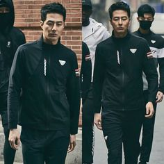 Asian Actors, Korean Actors, Jo In Sung, Japanese Men, Korean Men, Nike Jacket, Singing, Handsome, Jackets