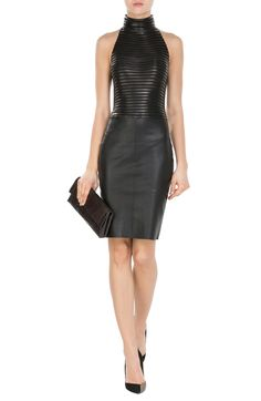 Leather Dress look detail