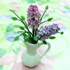 I just made another miniature pot of flowers how does it look?
