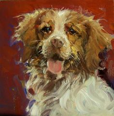 "Daily Paintworks - ""Im So Pretty"" - Original Fine Art for Sale - © Kim Roberti"