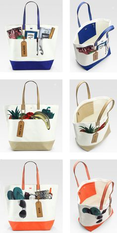 Anya Hindmarch fruit and veg tote