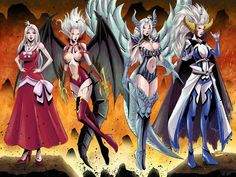 Mirajane's demon soul forms