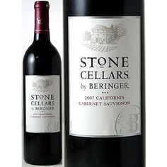 Stone Cellars ベリンジャー・ストーンセラーズ(カベルネ・ソーヴィニヨン)