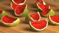 Sliced Watermelon Jell-O® Shots Video