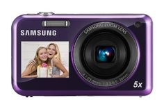 Samsung PL120 Digital Camera - Purple (14MP, 5x Optical Zoom) 1.5 inch Front, 2.7 inch Rear LCD -   -  Digital Image StabilizationThe only motion in your videos should be intentional  not from shaky hands. Digital Image Stabilization automatically compensates for unwanted camcorder movement by realigning each electronic image, frame by frame, with beautifully steady results.HD Movie... - http://unitedkingdom.bestgadgetdeals.net/samsung-pl120-digital-camera-purple-14mp-