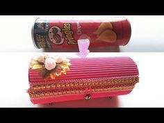 Caja hecha con lata de pringles│Candy Bu - YouTube