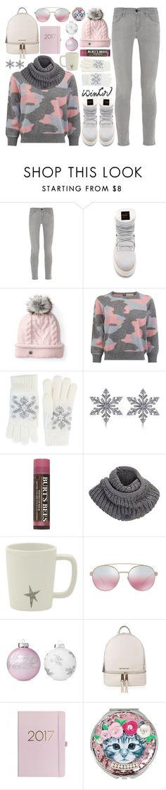 """Sweater Weather"" by stavrolga on Polyvore featuring Frame, Puma, Smartwool, Fits, Allurez, Burt's Bees, adidas, Bulgari, Shabby Chic and MICHAEL Michael Kors"