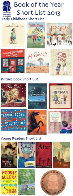 The Children's Book Council of Australia: Book of the Year Short List 2013 – Best Books For Kids