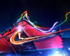 Nike Light by Gavin Campbell, via Behance