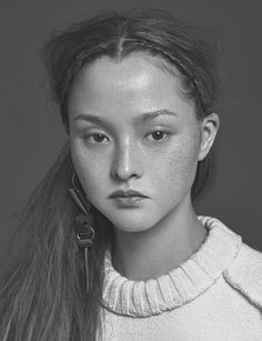 Daniel Sannwald photographs Devon Aoki with make up by Karan Franjola for Pop magazine, Fall/Winter 2014.