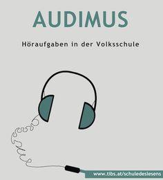 """Von der Schule des Lesens haben wir bereits die Lesemappe und den Leselotsen vorgestellt. Heute gehen wir auf """"Audimus"""" ein. AUDIMUS ist eine Sammlung von Höraufgaben, die in der Volksschule bzw. am Beginn der Sekundarstufe 1 eingesetzt werden können.…Weiterlesen ›"""