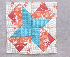 Diary of a Quilter - a quilt blog: Virtual Quilting Bee Block #2 by Sukie