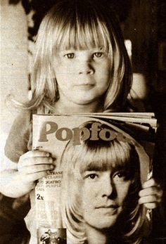 "Zowie Bowie AKA Duncan Jones (...who just got his haircut like one of his favorite musicians, Brian Connolly, Sweet...on cover of German Fanzine ""Popfoto"")"