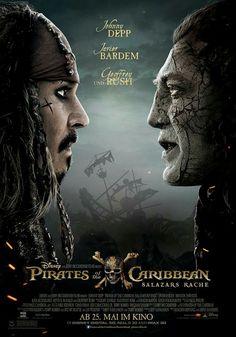 Nouvelle affiche Pirates des caraïbes 5