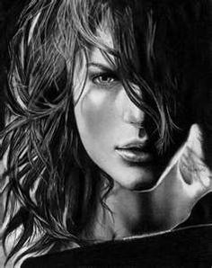 awesome charcoal drawing