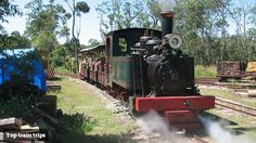 Durundur Railway is operated by the Australian Narrow Gauge Railway Museum Society, a group of railway enthusiasts who preserve a collection of locomotives and rolling stock used on the Queensland sugar mill tramways.