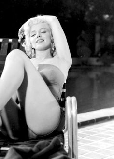 Marilyn Monroe in a photo shoot for Coca Cola by Harold Lloyd, 1953.