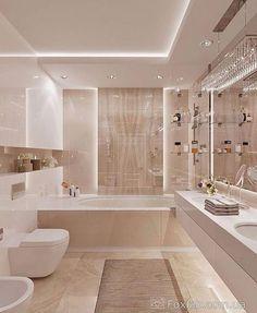 Aquele banheiro que encanta em todos os detalhes! ✨🤩 Po