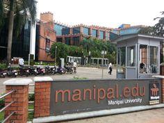 Manipal University, Manipal. Udupi. India.