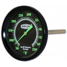 Man-Law MAN-T702BBQ Grill / Smoker BBQ Thermometer With Glow In The Dark Dial : BBQ Guys