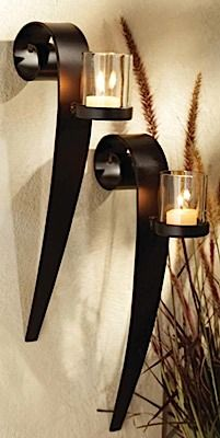 Malika Candle Wall Sconces