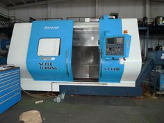 Johnford Super turning ST 60 B Year : 2008 Fanuc Oi-Tc Keurig, Turning, Coffee Maker, Kitchen Appliances, Coffee Maker Machine, Cooking Ware, Coffee Percolator, Home Appliances, Woodturning