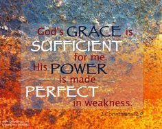 Trust in his grace