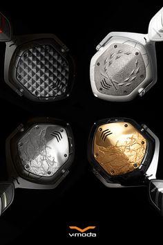 3D Printed Custom Wireless Headphones. V-MODA Crossfade Wireless