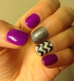 Chevron nails