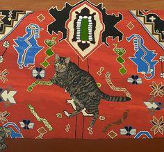 Leidy Churchman - Chuck, 2010. Acrylic on canvas.