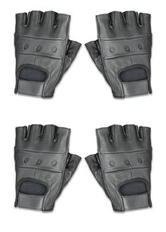 Raider Leather Fingerless Gloves Black XLarge  Pack of 2 *** Be sure to check out this awesome product.(It is Amazon affiliate link) 280