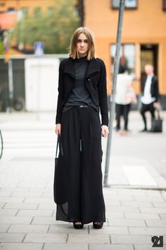 all black style trend
