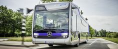 mercedes-benz puts wheels of future public transportation in motion with self-driving city bus