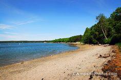 Lamoine State Park Beach - Lamoine State Park Campsite Photos - campsitephotos.com