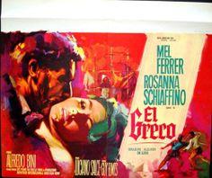 El Greco (1966) Stars: Mel Ferrer, Rosanna Schiaffino, Adolfo Celi, Fernando Rey ~  Director: Luciano Salce