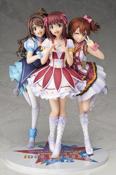 iDOLM@STER Cinderella Girls - The Idolm@ster: Million Live! - The Idolmaster - Amami Haruka - Kasuga Mirai - Shimamura Uzuki - 1/8 - 10th Memorial Figure (Aniplex, Stronger)