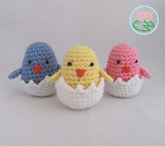 Easter-Spring super easy and quick amigurumi project.