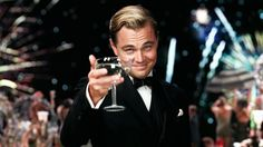 The Great Gatsby by F Scott Fitzgerald Leonardo DiCaprio Baz Luhrmann Scott Fitzgerald, Baz Luhrmann, Leonardo Dicaprio, The Great Gatsby Review, Artiste Martial, Cannes 2014, Jay Gatsby, Gatsby Movie, Gatsby Party