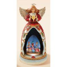 Lighted, Musical Nativity Angel