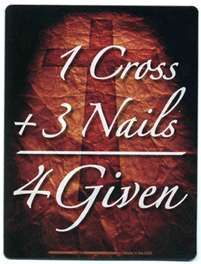 And because of this we are forgiven~